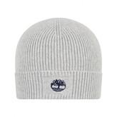 Timberland TimberlandBaby Boys Grey Cotton Knit Hat