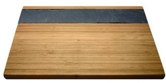 Epicureanist Bamboo & Slate Cheese Serving Tray