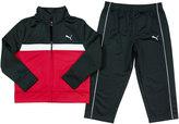 Puma Toddler Boy Tricot Colorblock Jacket & Pants Set