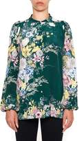N°21 Printed Silk Shirt