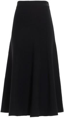 Valentino Flared Midi Skirt