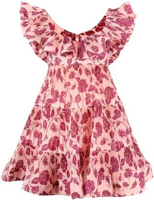 Zimmermann Ruffle-Tiered Dress