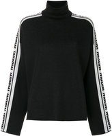 MSGM logo turtleneck jumper