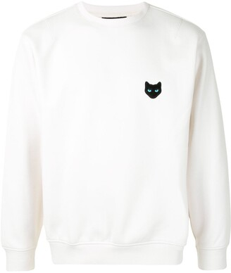 ZZERO BY SONGZIO Panther embroidered sweatshirt