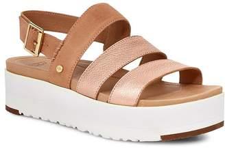 UGG Women's Braelynn Platform Slingback Sandals