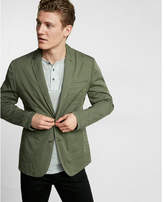 Express casual twill blazer