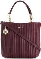 DKNY quilted crossbody tote