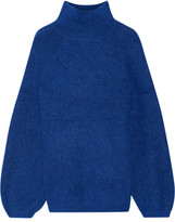 By Malene Birger Balero Knitted Turtleneck Sweater - Royal blue