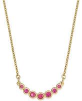 Kate Spade Gold-Tone Bezel-Set Crystal Necklace