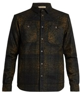 Bottega Veneta Needle-punch Brushed-wool Shirt