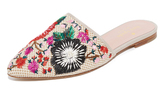 Kate Spade Monteclaire Embroidered Mules