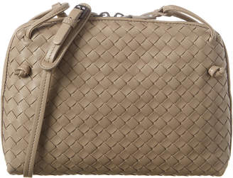 Bottega Veneta Nodini Intrecciato Leather Crossbody