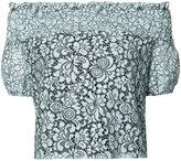 Zac Posen Sabine lace blouse - women - Polyester/polyester - XS