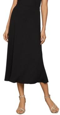 BCBGMAXAZRIA Flounce Midi Skirt