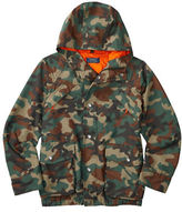 Ralph Lauren Boys 8-20 Camo Printed Hooded Jacket