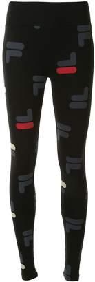 Fila Logo-Print High-Rise Leggings