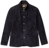 Brunello Cucinelli - Slim-fit Suede Jacket