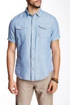 ProjekRaw Projek Raw Stripe Linen Blend Shirt