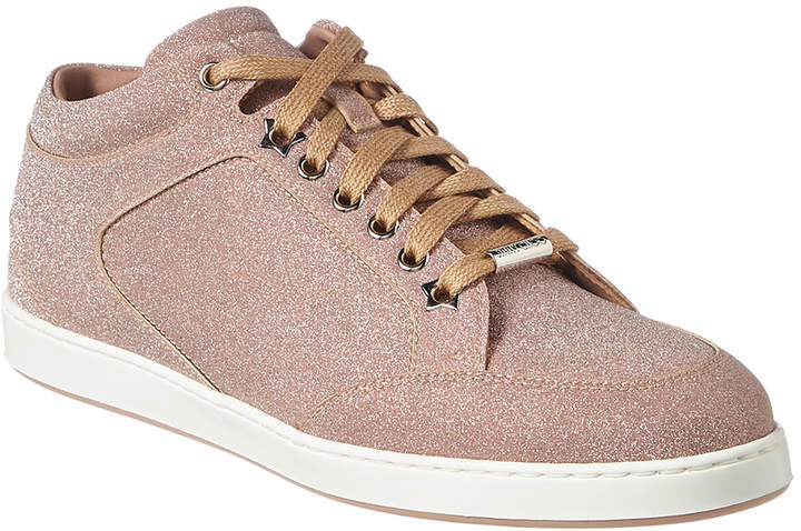 1e647f6bb53 Jimmy Choo Glitter Sneakers - ShopStyle