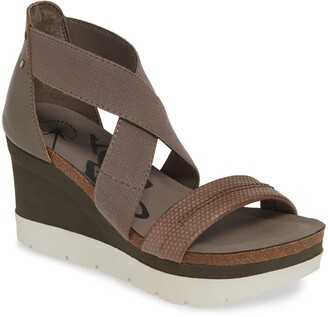 OTBT Half Moon Wedge Sandal