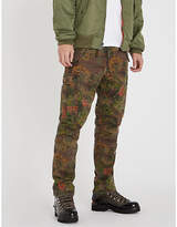 Polo Ralph Lauren Camouflage relaxed-fit cotton cargo trousers