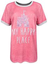 Disney Fantasyland Castle Ringer Tee for Women by Boutique
