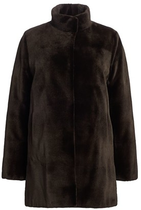 Zac Posen For The Fur Salon Reversible Sheared Mink Coat