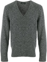 Joseph long sleeved V-neck sweater