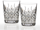Waterford Crystal Lismore Clear Double Old-Fashioneds, Set of 2