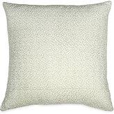 Donna Karan Exhale Embroidered Velvet Square Pillow