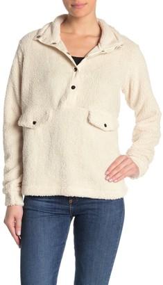 Cotton On Blair Button-Up Fleece Sweater