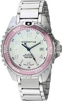 Momentum Women's Quartz Stainless Steel Diving Watch, Color:Silver-Toned (Model: 1M-DN11LR0)
