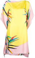 Emilio Pucci floral print tunic - women - Silk - 42