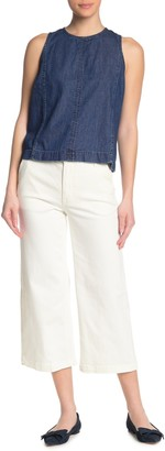 J.Crew Chalk Wide Leg Pants