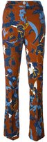 Twin-Set floral print trousers