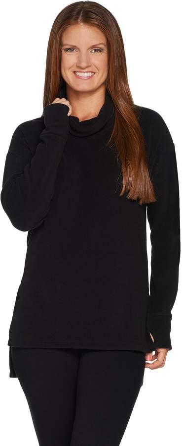 2a3948266b4 Fleece Tunic With Long Sleeve - ShopStyle