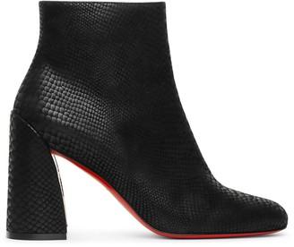 Christian Louboutin Turela 85 nubuck ankle boots