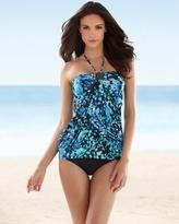Soma Intimates Christina Sea Scape Blouson Swim Tankini