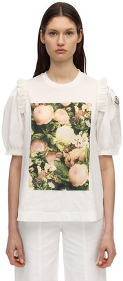 MONCLER GENIUS Simone Rocha Printed Jersey T-Shirt