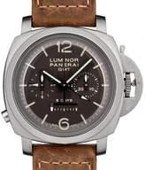 Panerai Men's 44mm Calfskin Band Titanium Case Mechanical Watch Pam00311