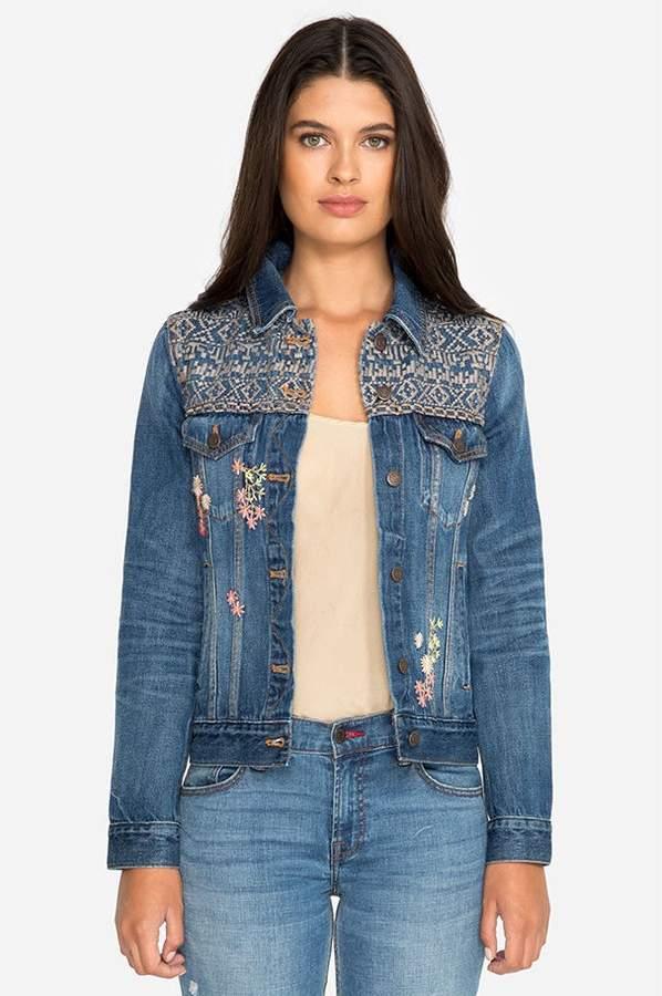 Aubrieta Cali Classic Denim Jacket