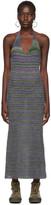 Jacquemus Multicolor La Robe Tropea Longue Dress