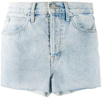 SLVRLAKE Farrah mid-rise denim shorts
