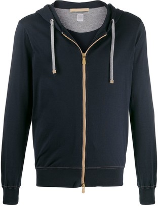 Eleventy Front Zipped Hoodie