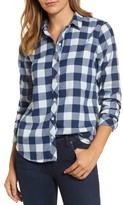 Vineyard Vines Women's Carmel Relaxed Buffalo Check Shirt
