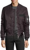 Eleven Paris Nuxy Zip-Front Bomber Jacket