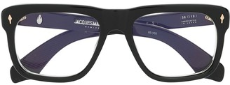 Jacques Marie Mage Yves square-frame glasses
