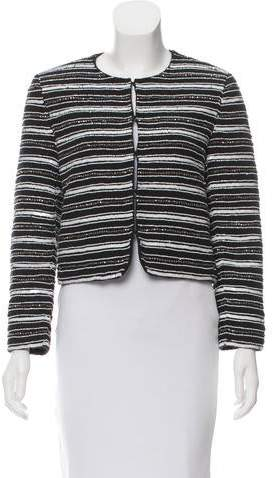 Alice + Olivia Structured Sequin Jacket