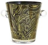 Jonathan Adler Malachite Glass Ice Bucket