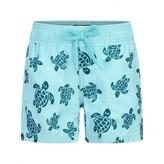Vilebrequin VilebrequinFlocked Turtles Swim Shorts